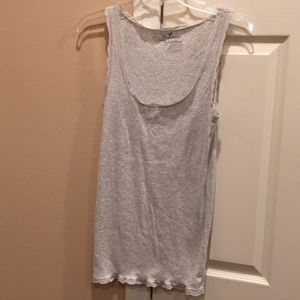 American Eagle lace-trimmed tank